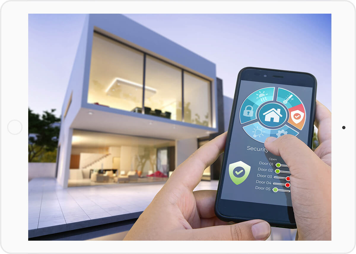 Internet of Things Anwendungen mit dem Smartphone überwachen