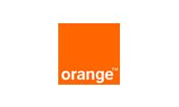 Logo des Referenzkunden orange